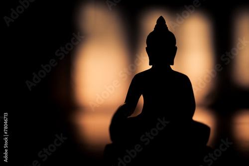 Aluminium Standbeeld esprit bouddha