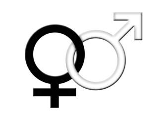 Piktogramm - Mann / Frau