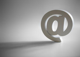 E-mail @ symbol