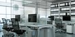 Leinwandbild Motiv modernes Büro im Loft