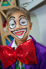 Boy clown