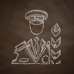 customs inspector icon