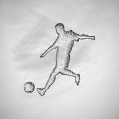 soccer player icon