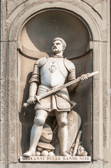 Statue of Giovanni dalle Bande Nere in Florence