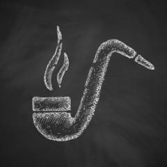 tobacco pipe icon