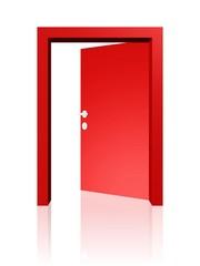 offene Tür - Ausweg, Hoffnung
