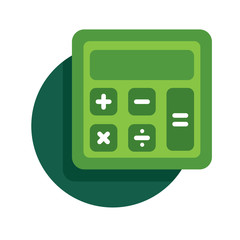 vector calculator icon