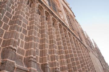 monastery facade