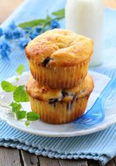 homemade pastries, sweet vanilla cupcakes for breakfast