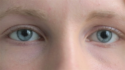 Close up portrait of a young sad female child