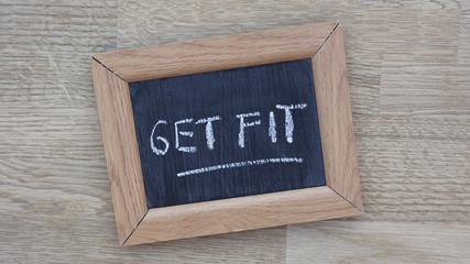 Get fit written
