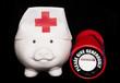 charity healthcare piggy bank