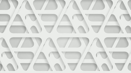 moving perforated white triangles, loop