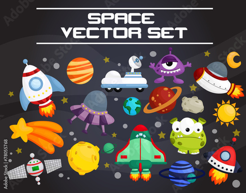 space invader vector set - 78055768