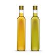 Vector Set of Olive or Sunflower Oil Glass Bottles - 78059373