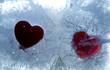 canvas print picture - Herz auf Eis Photo © Herby Meseritsch