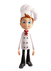 Chef character with standing pose