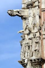 Toscana,Siena,Il Duomo, le guglie.