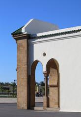 Ahl Fas Royal Mosque at Royal Palace in Rabat