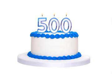 500th birthday cake