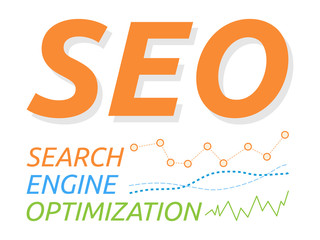 SEO Word with Grow Up Graphs