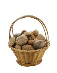 Nuts Mix In A Basket