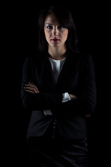 Image of brunette business woman