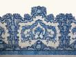 Traditionelle portugiesische Azulejos, Kachelmalerei - 78064326