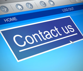 Contact us concept.