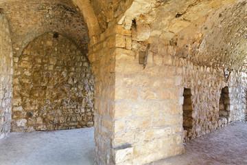 Ruins and details Crusader fortress