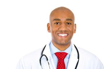 portrait happy doctor health care professional