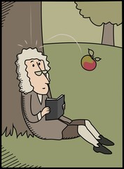 Isaac Newton & Apple