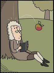 Isaac Newton & Apple