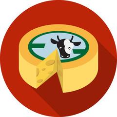 Vector Wheel of Cheese