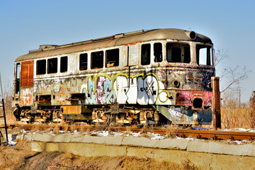locomotive obsolete , forgotten to end of line