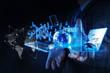 businessman shows modern technology as concept - 78071554