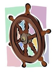 sketchy ships wheel