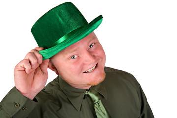 Leprechaun: Cheerful Irish Man In Green