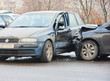 car crash collision in urban street - 78072192