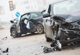 car crash collision in urban street - 78072396