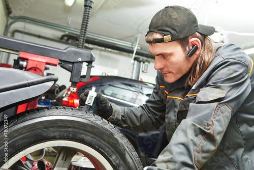 car wheel protector measurement - 78072349