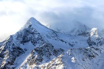 Swiss Alps winter