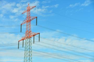 Strommasten, Hochspannung, Elektrizität, Energie, Strom