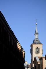 San Ginés church campanile, Madrid, Spain