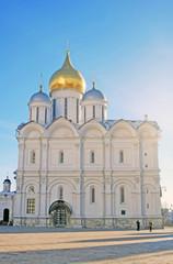Archangels church in Moscow Kremlin. UNESCO World Heritage Site.