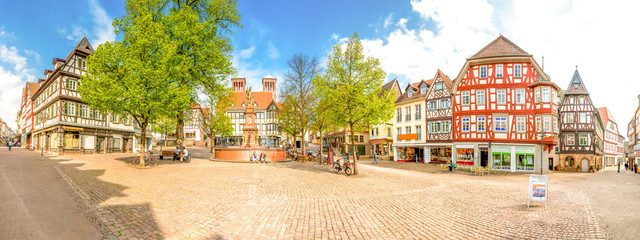 Bensheim Marktplatz 180° Panorama
