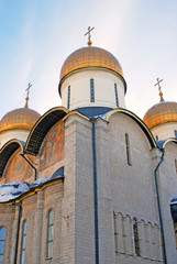 Dormition church. Moscow Kremlin. UNESCO World Heritage Site.