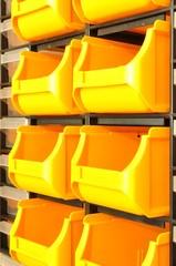 Wandregal Sichtboxen in der Industrie