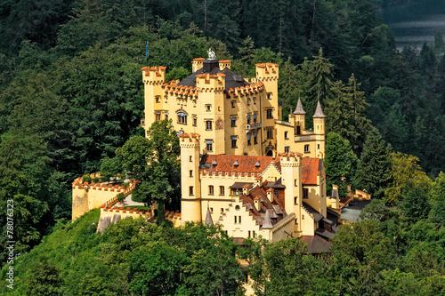 fototapeta na ścianę Zamek Hohenschwangau