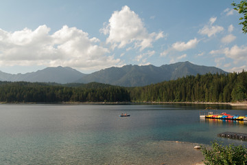 lake near Zugspitz